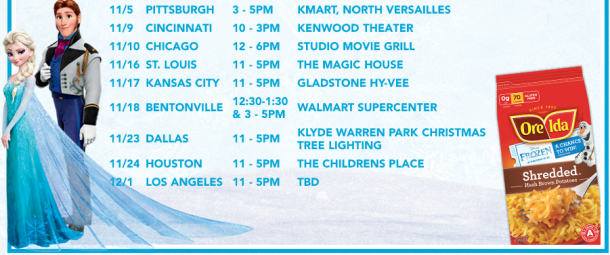Disney Frozen Printable Activity Sheets & Fun Tour — Local fun for ...