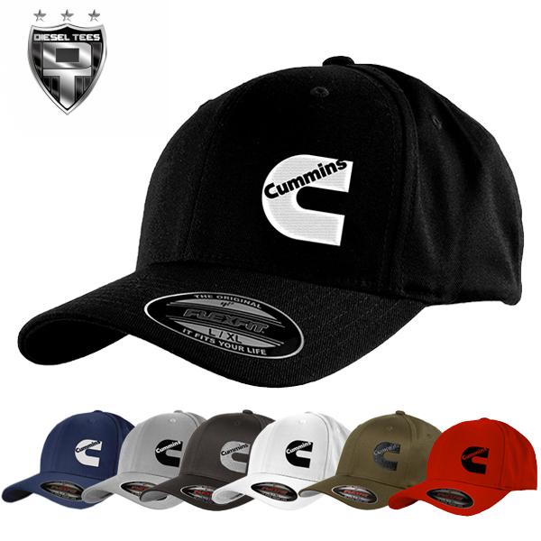 cd6a3aa38c5 Cummins Diesel FlexFit Hats