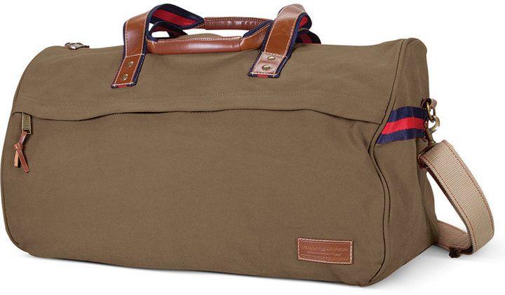 Tommy Hilfiger Canvas Duffel Bag Web ID: 747568