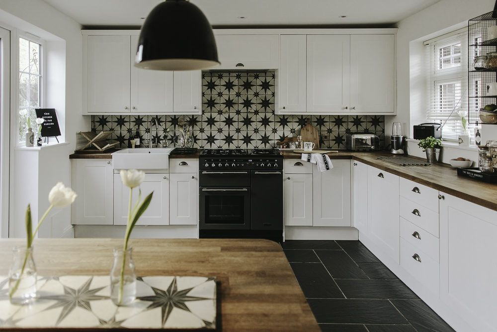 Updating A Large Kitchen On A Small Budget For The Home Kitchen