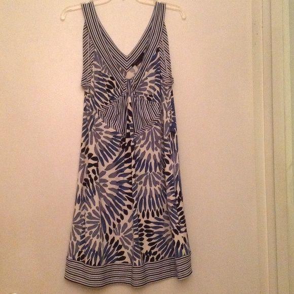 BCBG Maxazria  dress Worn a couple of times. Very good condition. 94%  Polyester, 6% Spandex. BCBGMaxAzria Dresses