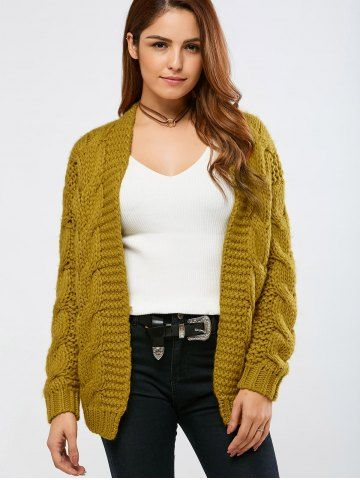 GET $50 NOW | Join RoseGal: Get YOUR $50 NOW!http://www.rosegal.com/sweaters/cable-collarless-cardigan-820476.html?seid=6145535rg820476