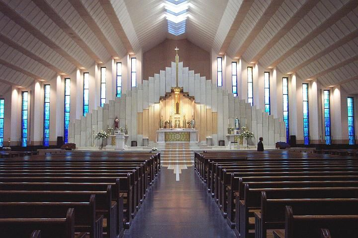 interior design ideas for modern church - Church Interior Design Ideas