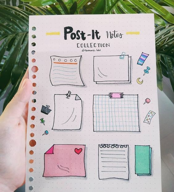 36 Simple Doodles You Can Easily Copy in Your Bullet Journal #bulletjournal