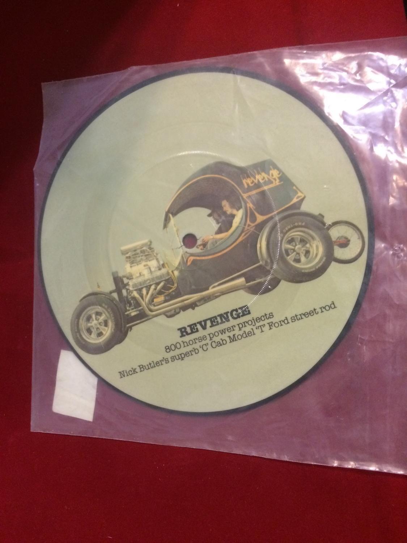 For Sale Revenge Earls 45 vinyl record 2665 Virtual