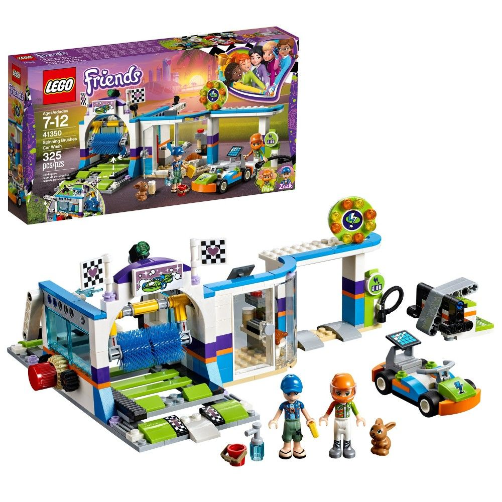 Lego Halloween Sets 2019.Lego Friends Spinning Brushes Car Wash 41350 In 2019