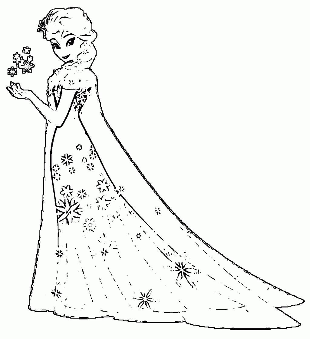 Awesome Coloring Pages Princess Elsa That You Must Know