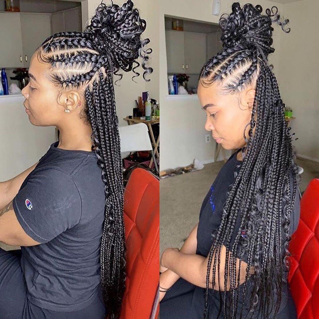 92+ African Braids Hairstyles 2020 Black Female in 2020 ...