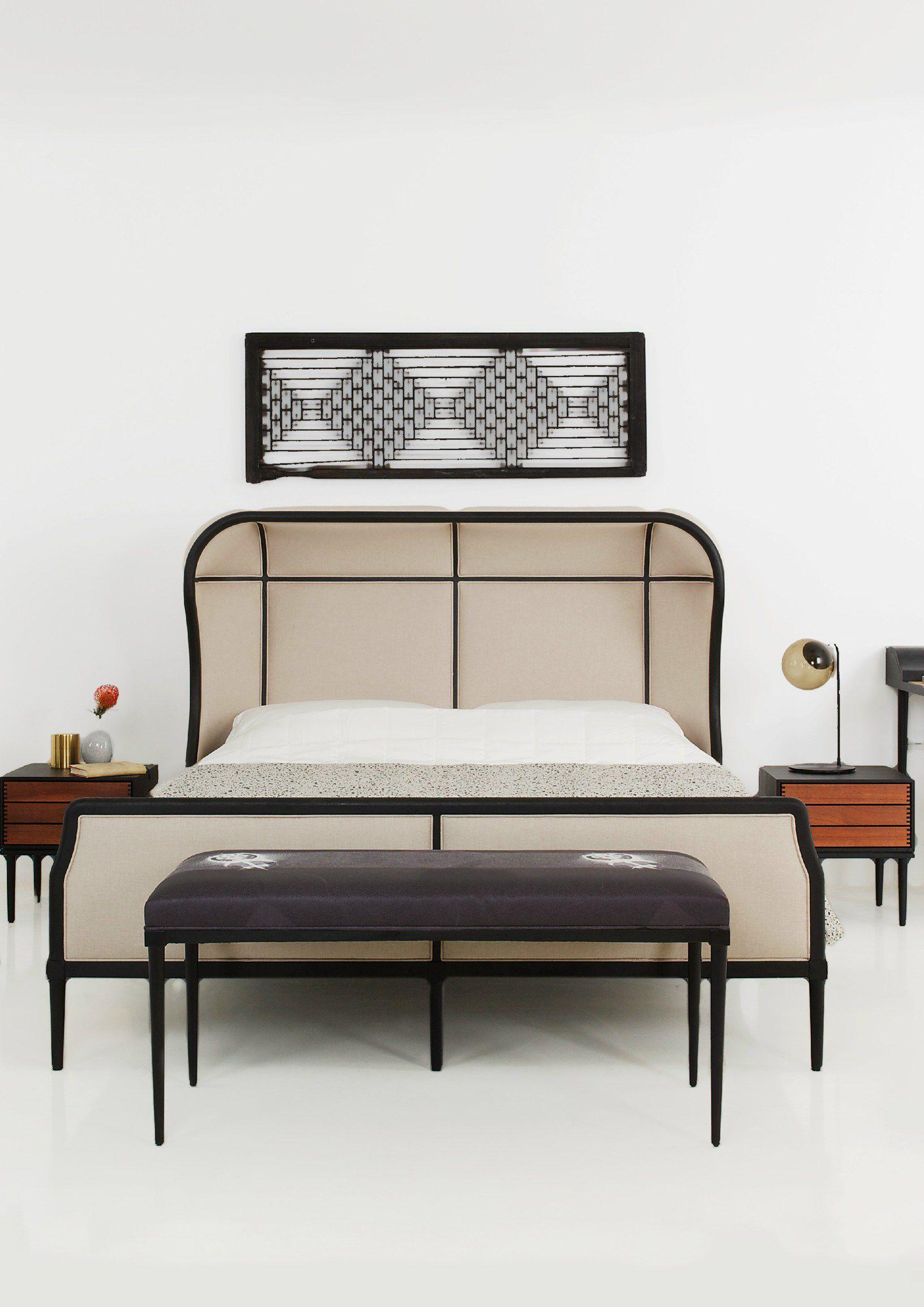 Laval Bench Stellar Works Bed Furniture Bedroom Furniture Bedroom Headboard