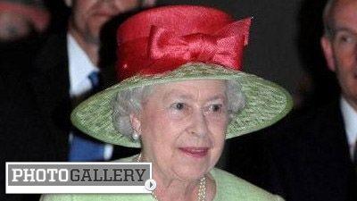 Queen Elizabeth II at the KY Derby