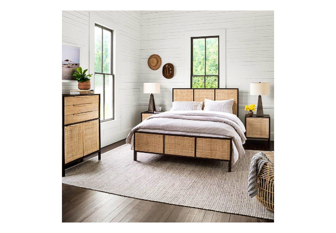 Sydney King Bed in 2020 Furniture design, Furniture