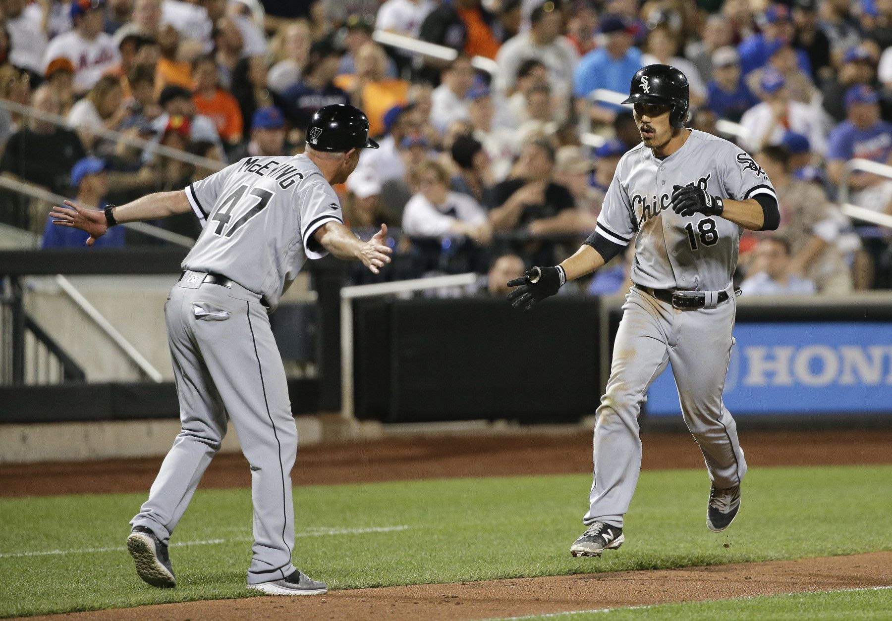 White Sox vinieron de atrás para liquidar a los Mets 64