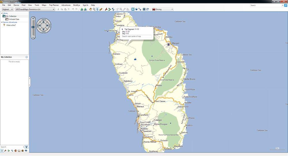 Carte Garmin Cuba.Dominica Gps Map Compatible With All Garmin Gps Devices