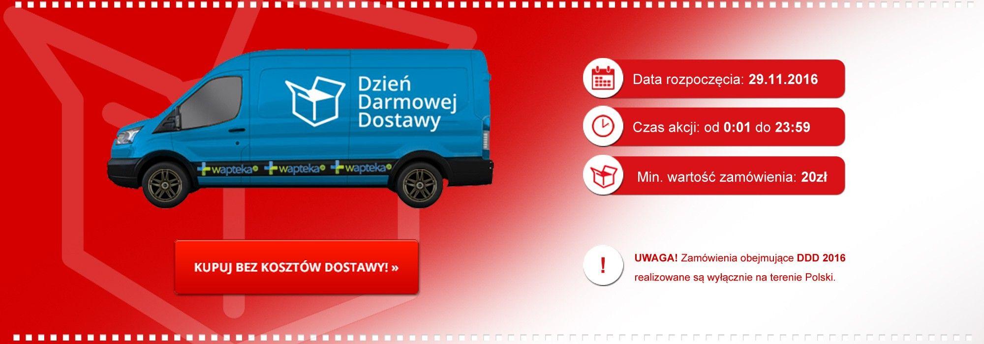 wapteka.pl - Dzień Darmowej Wysyłki :)