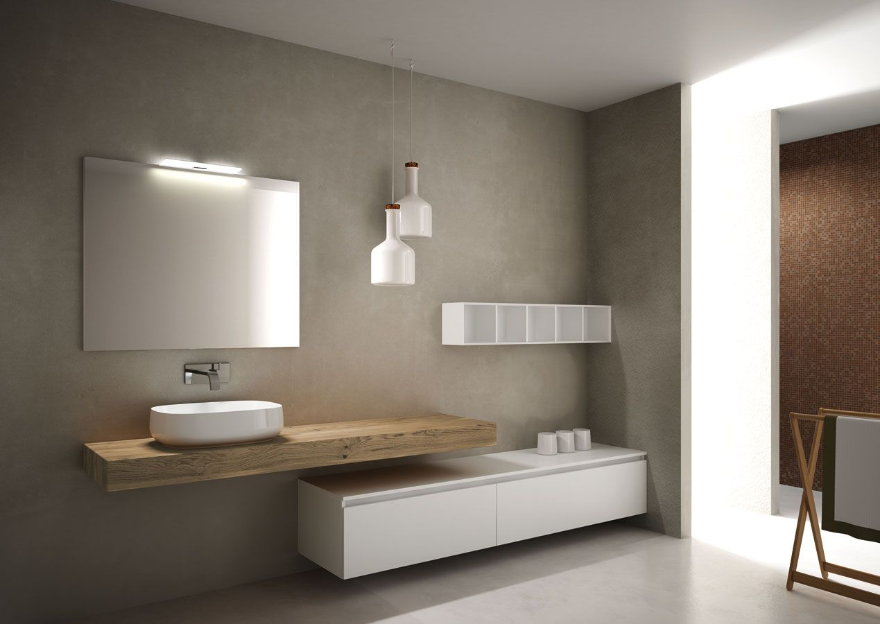 Bathroom design furniture very wood by toema mobili di for Articoli di design per mobili