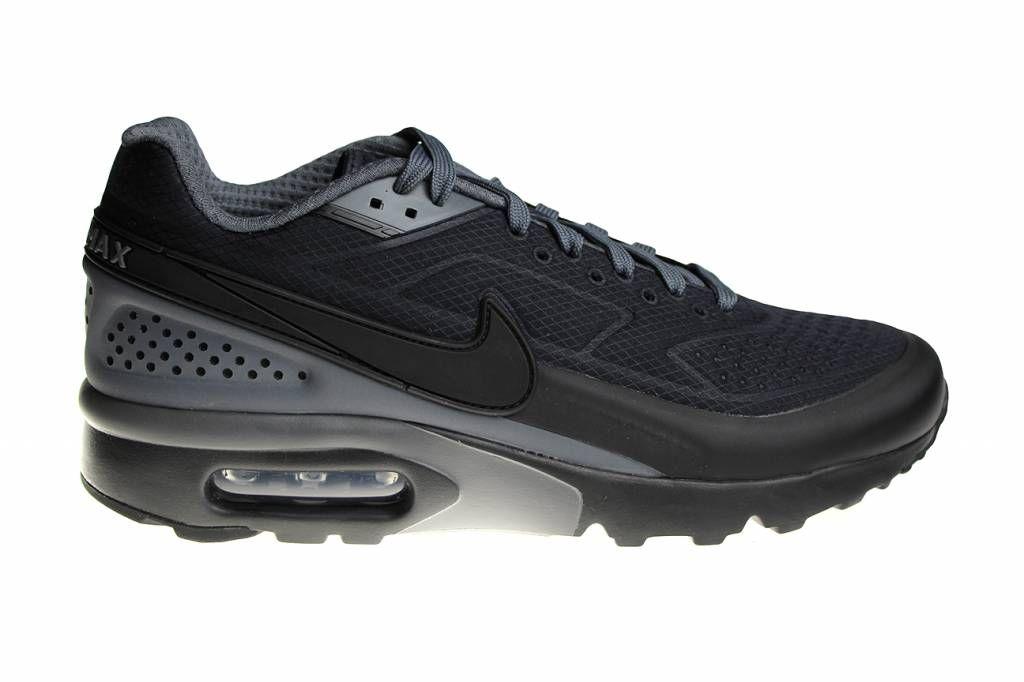 Nike Air Max Bw Premium Men Black White Shoes 819523 065
