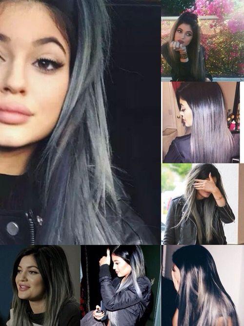 Kylie Jenner With Grey Hair Do Pinterest Kylie Jenner Hair