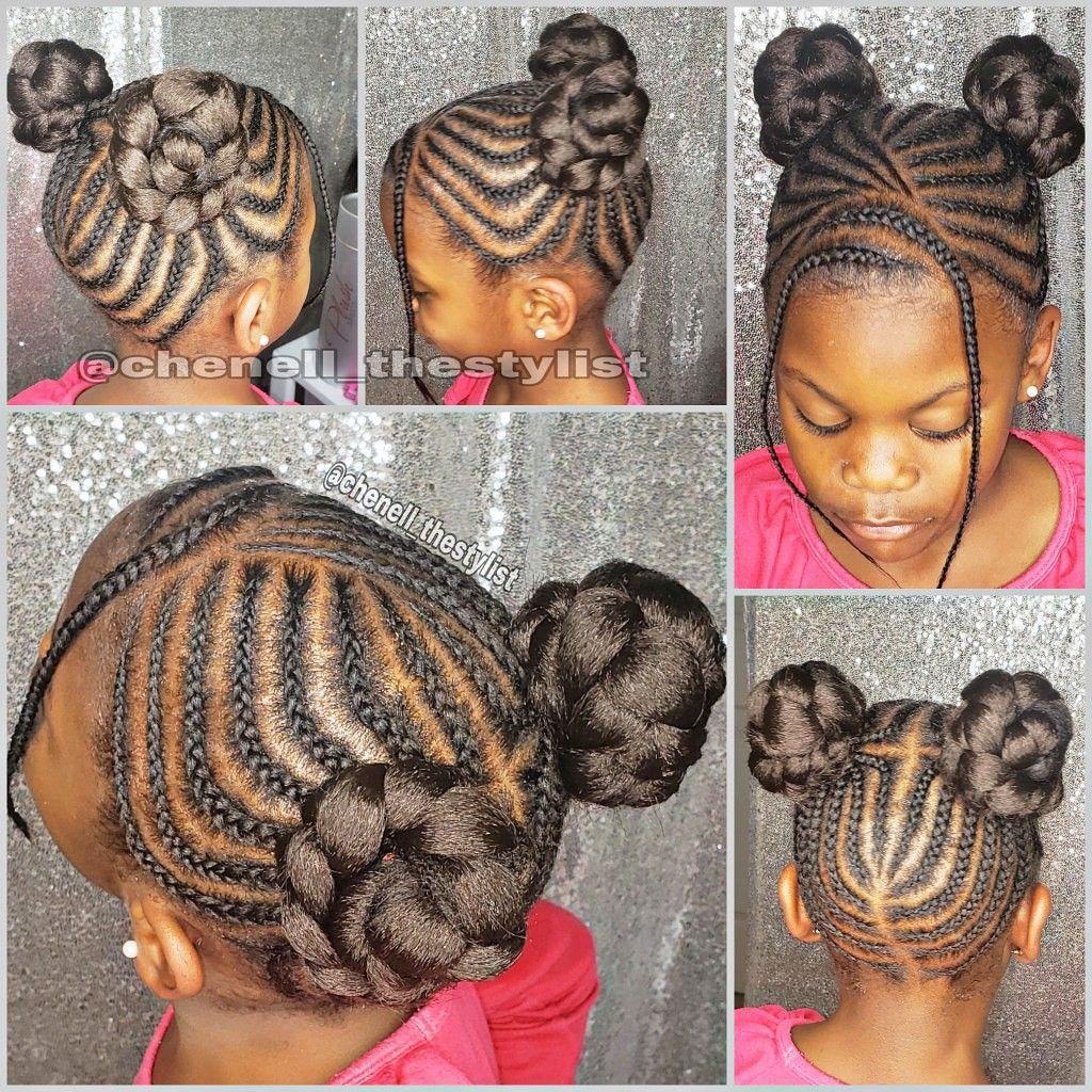 Kids Braids Baby Girl Hairstyles Hair Styles Little Girl Braids