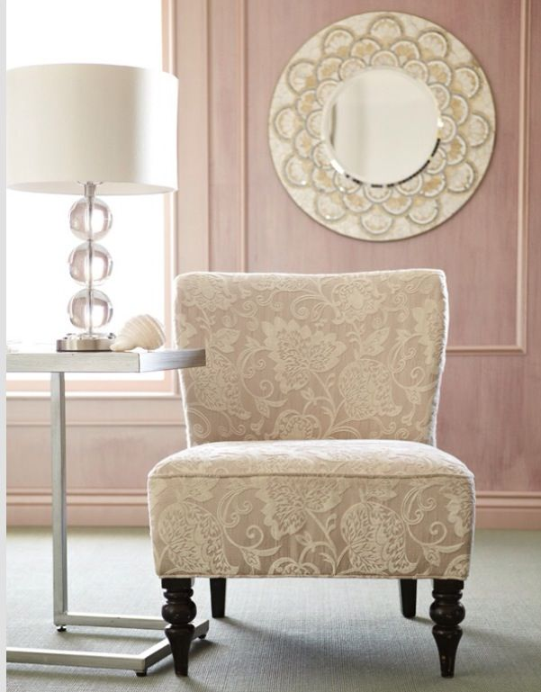 Delicieux Not Only Love The Addyson Chair But The Soft Pink On The Walls