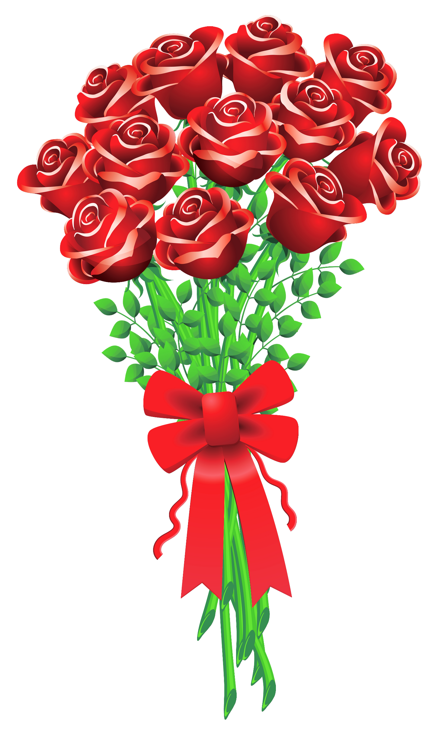 Valentines Day Roses Clipart | já | Pinterest | Clip art and Decoupage