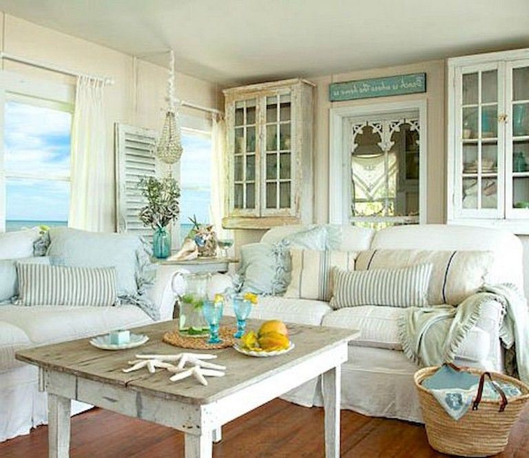 42 Comfy Farmhouse Shabby Chic Living Room Decor Ideas Page 10