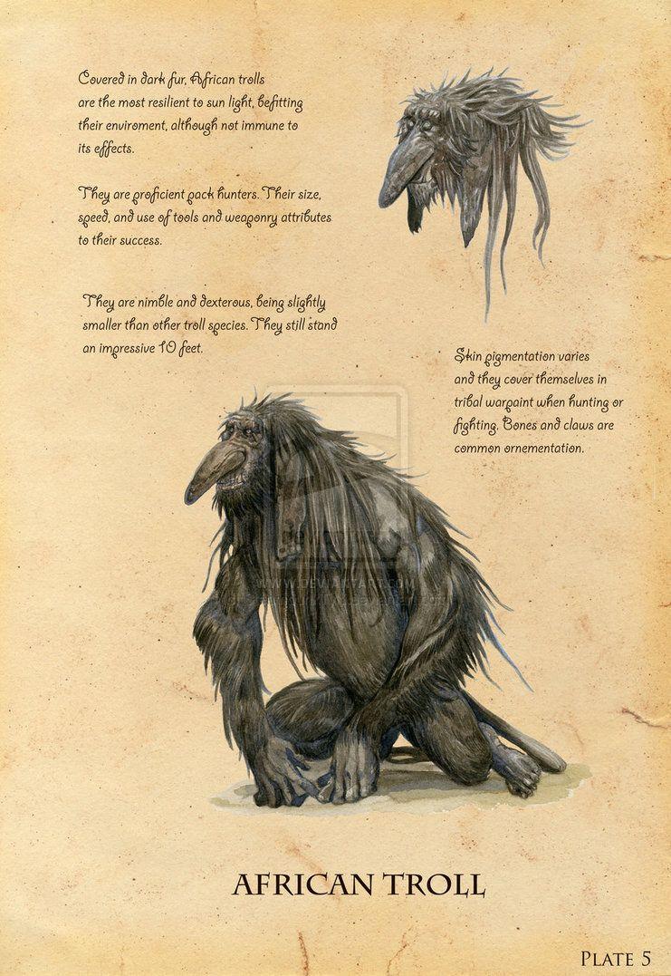 African Troll by eoghankerrigan on deviantART   Imaginarium