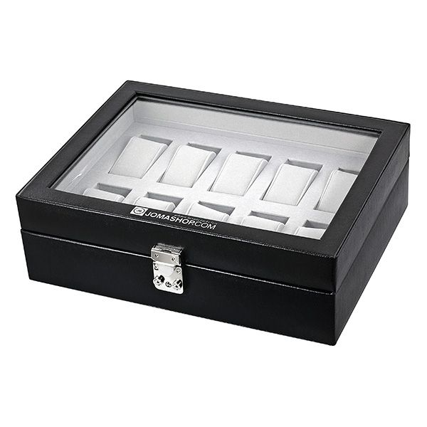 Wolf 10 Piece Watch Box Model No 99507 Watch Box Black Exterior 10 Things