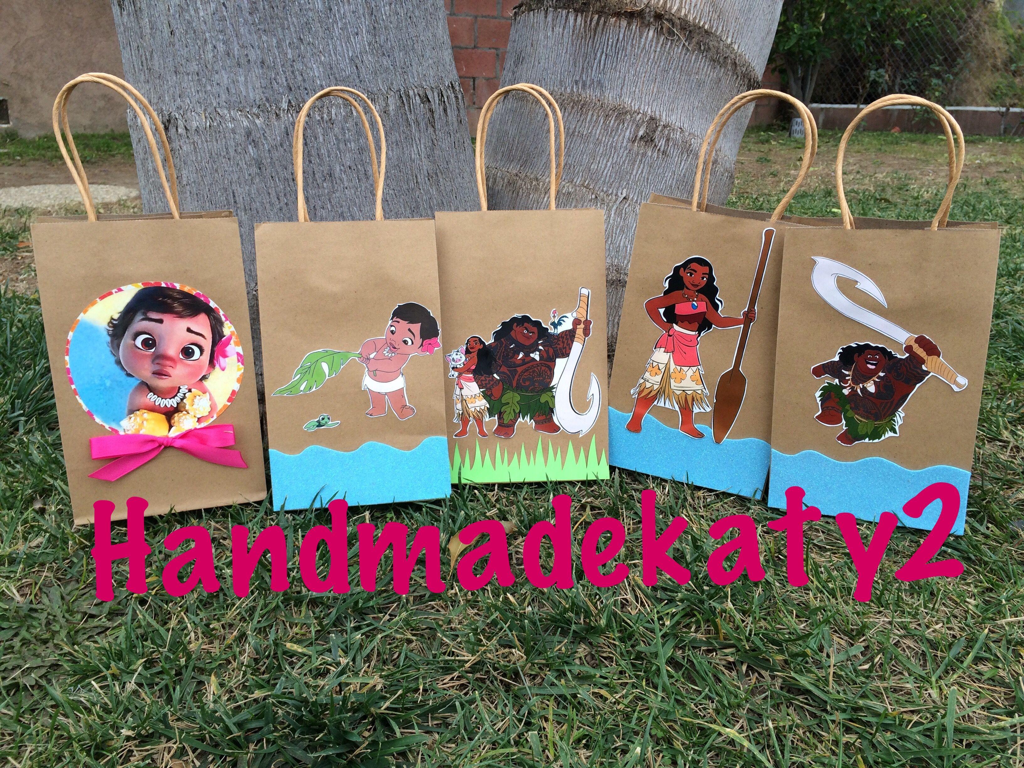 a9da9b2fd bolsitas moana Centros De Mesa Moana, Dulces Infantiles, Fiestas Infantiles,  Fiesta Tematica Moana