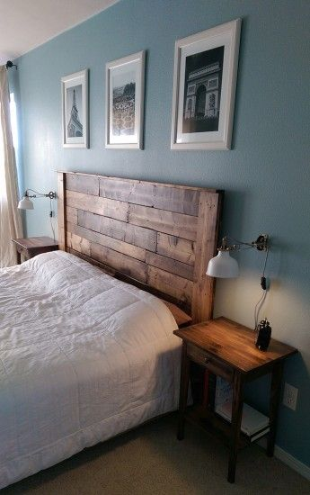 Dormitorio. Cabecera de madera | Room Ideas | Pinterest | Cabecera ...