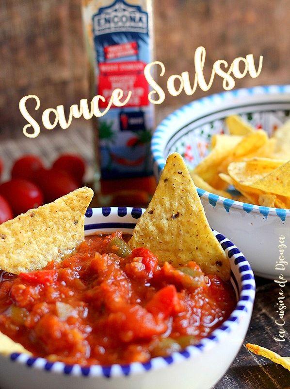 Sauce salsa mexicaine maison