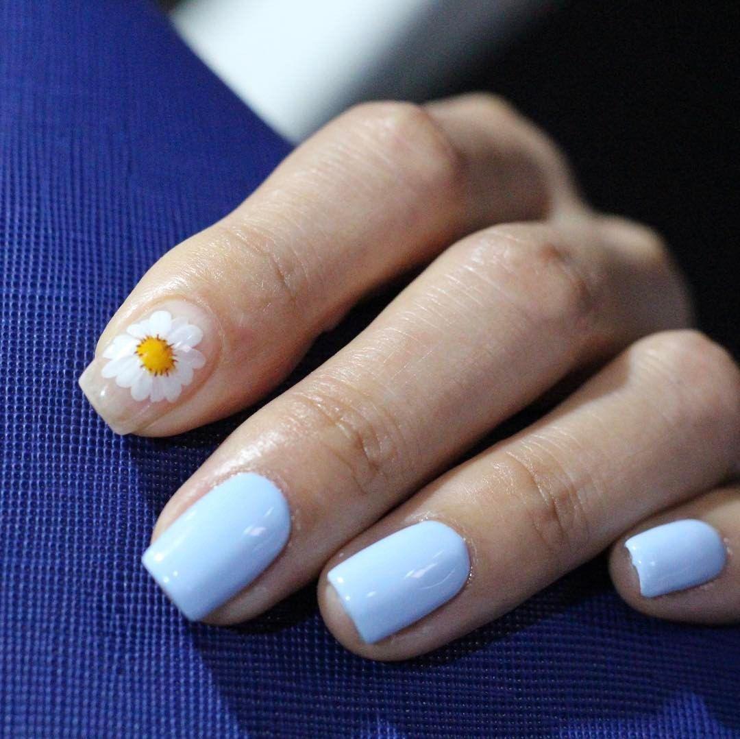 이렇게 좋은날엔 데이지네일🌸💐🌻🌹🌷  #springnails #daisyflower #daisynails #flowernails  #unistella #daily_unistella #daily_unisnails