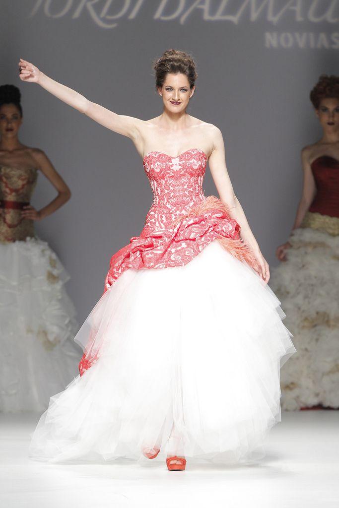 Desfile de Jordi Dalmau en Barcelona Bridal Week 2014 | Moda nupcial ...