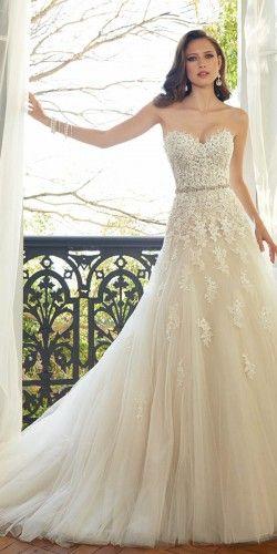 18 Preciosos Vestidos de Novia por Sophia Tolli   Vestidos de novia ...