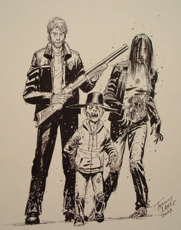Walking Dead - Tony Moore | Comic Art: Tony Moore ...