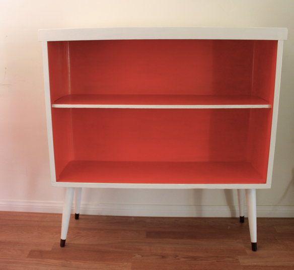Mid Century Modern Refurbished Bookcase