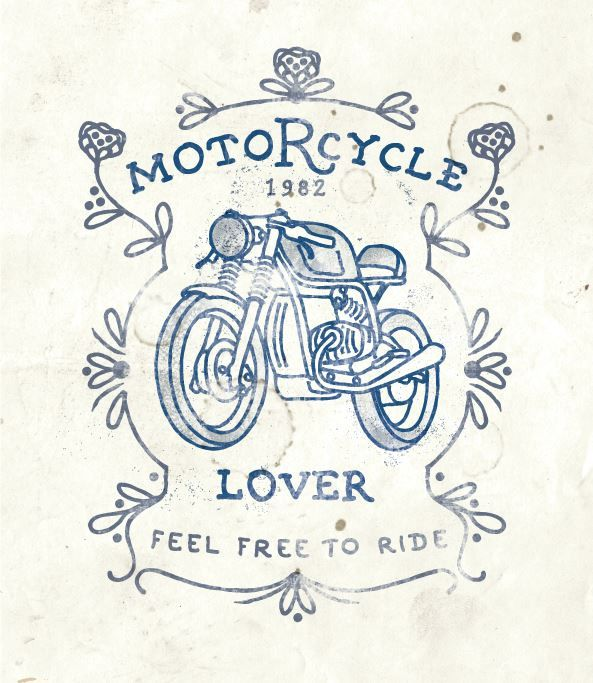 My New Artwork For Sale If You Are Interested Contact Me By Email Danilodedonno Libero It Illustration Caf Bike Artwork Motorcycle Illustration Bike Art