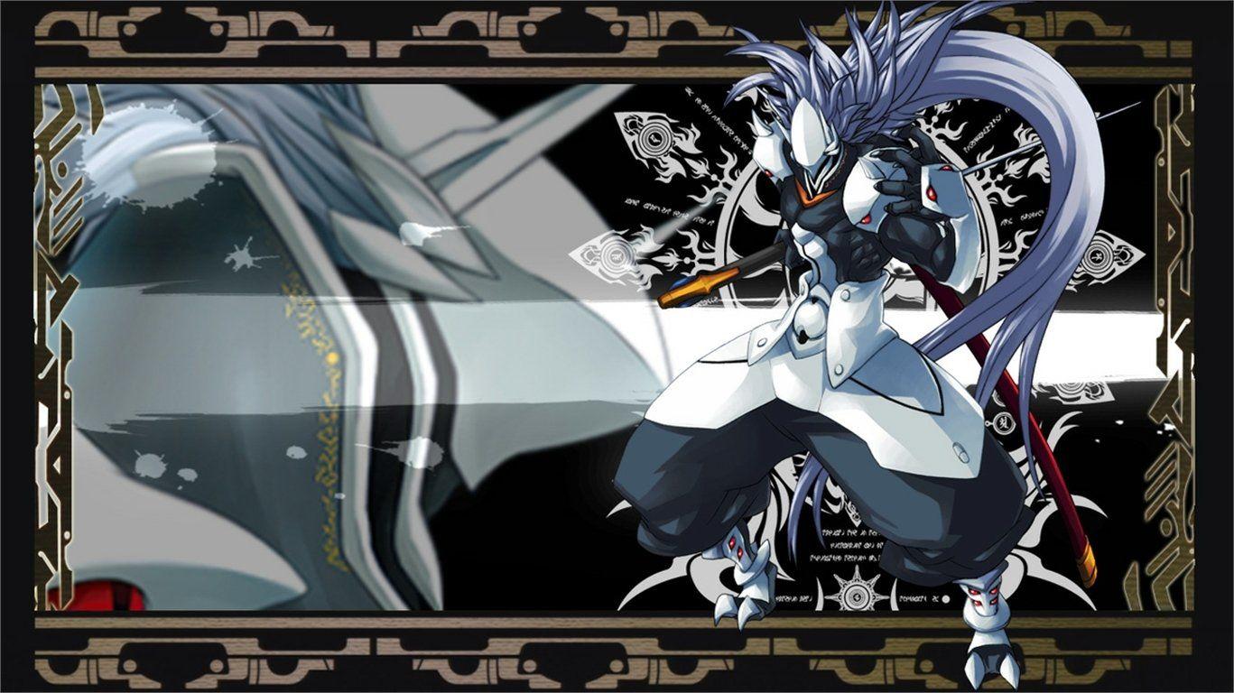 1367x768 BlazBlue: Calamity Trigger Wallpaper Background