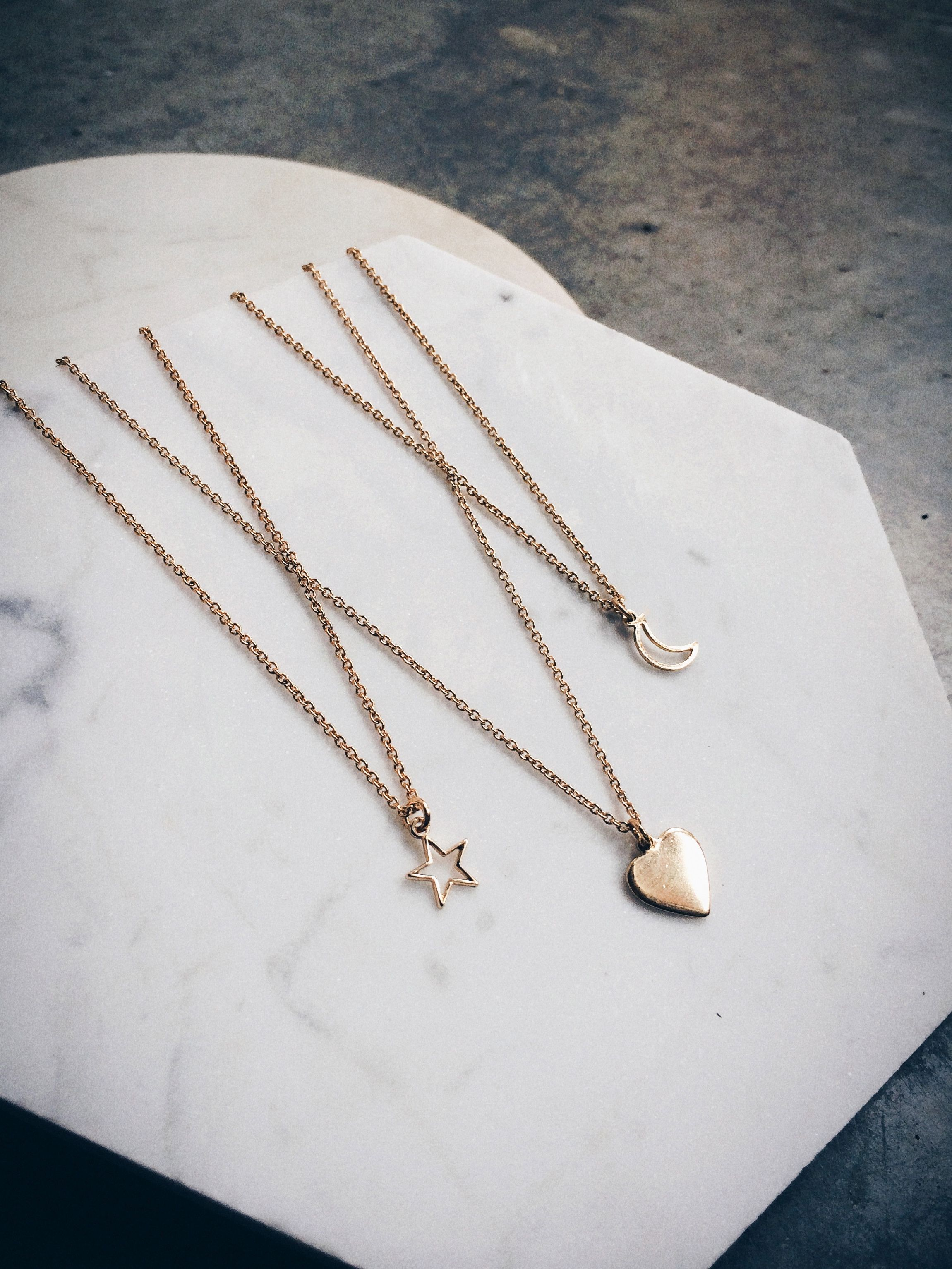 Layer up your delicate 14k gold necklaces...xxBB