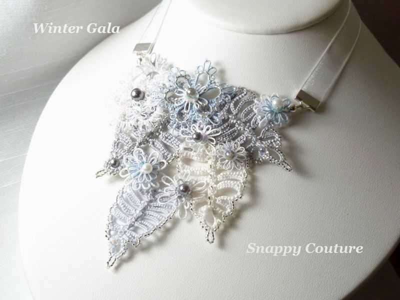 Ожерелья фриволите Jennifer Kohr (SnappyTatter)