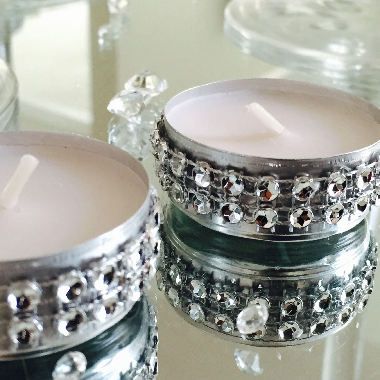 50 Dazzling Tea Lights Diy wedding backdrop, Tea lights