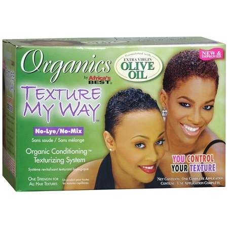 Texture My Way Organics Texture My Way No Lye No Mix Organic Conditioning Texturizing System 1 Ea Conditioner My Way Relaxer