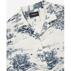 The Kooples - Lockeres ecrufarbenes Hemd mit Hawaii-Kragen - Damen