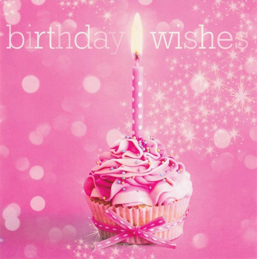 pink happy birthday