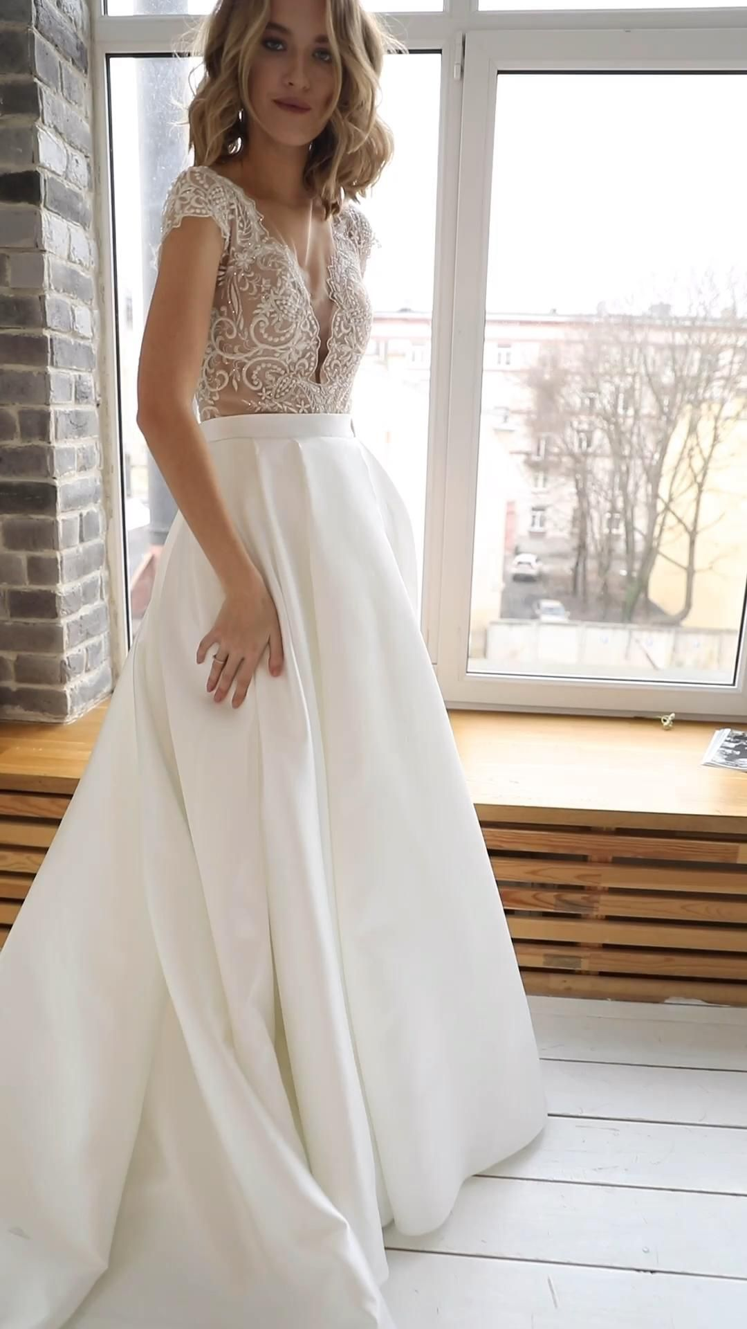 Wedding dress Rebecca by Olivia Bottega