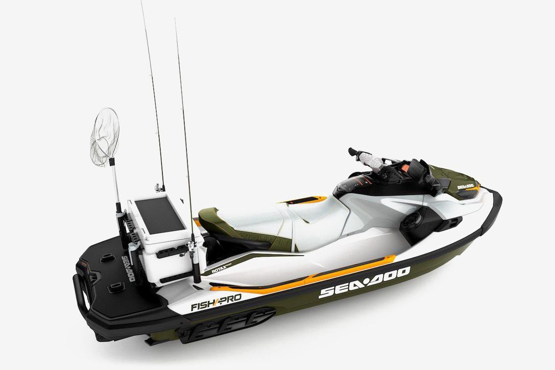SeaDoo's FISH PRO Watercraft Is Equipped With A Dedicated