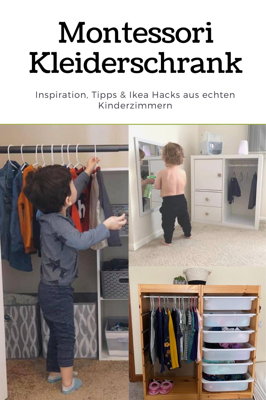 Photo of Montessori Kleiderschrank für Kleinkinder