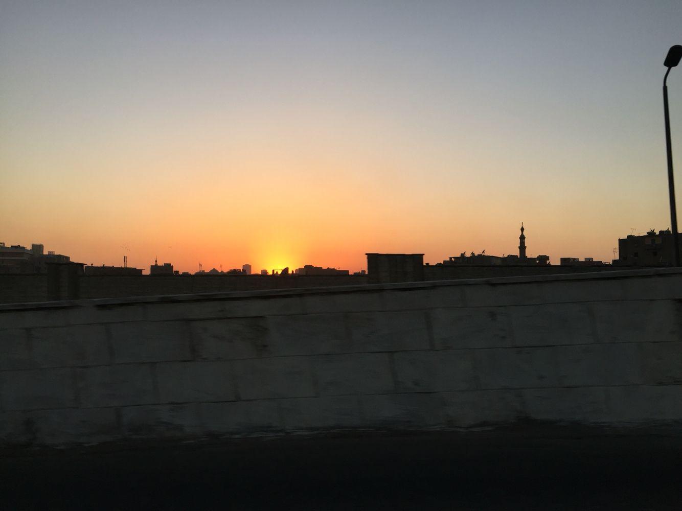 غروب منطقة السيدة نفيسة تصوير فاطمة عمارة Sunset Celestial Outdoor