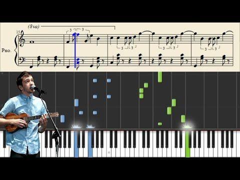 Twenty One Pilots Screen Piano Tutorial Youtube Piano Sheet