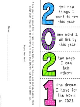 2021 New Year Resolutions Foldables And More By The Busy Class Tpt New Years Activities Teaching Writing Writing Lessons