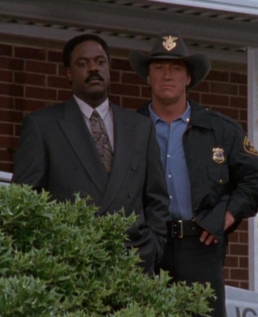 Howard Rollins (Virgil Tibbs) Alan Autry (Bubba Skinner)